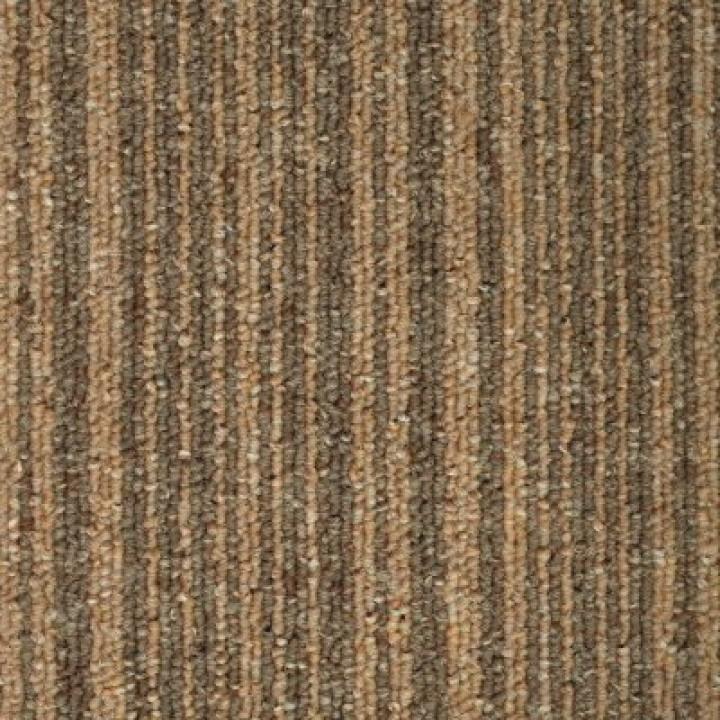 Ковровая Плитка Stripe (Страйп) 123 Карамельный-Серый