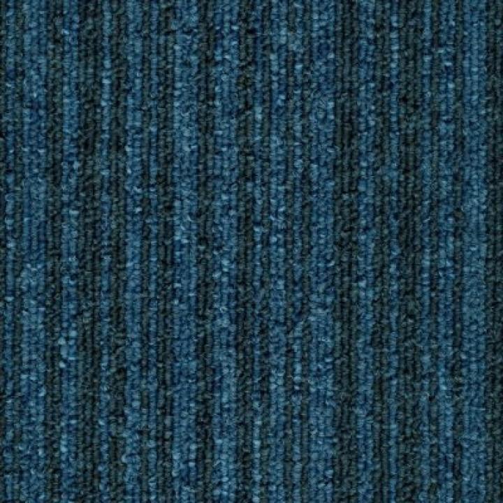 Ковровая Плитка Stripe (Страйп) 171 Синий-Черный