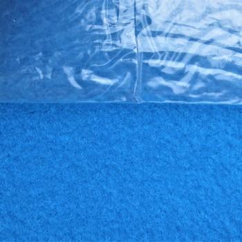Ковролин c защитной пленкой exposhow 9554 Голубой