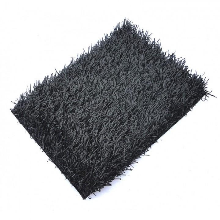 Искусственная трава deco 20 мм Черная