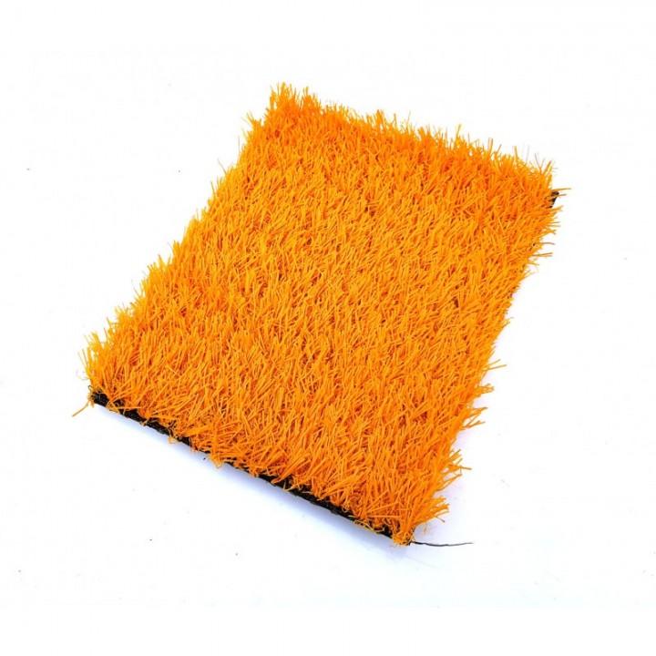 Искусственная трава deco 20 мм Оранжевая