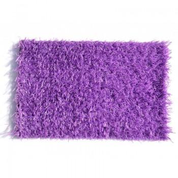 Искусственная трава deco 20 мм фиолетовая