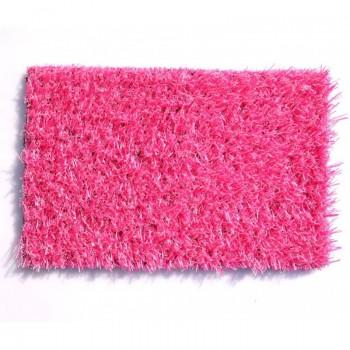Искусственная трава deco 20 мм Розовая