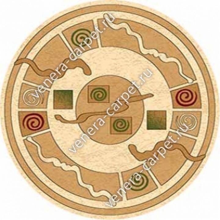 ковер Olympos (Олимпос) D077 - CREAM-BEIGE DAIRE