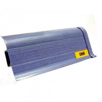 Плинтус пластиковый iDeal 024 Синий 55 мм