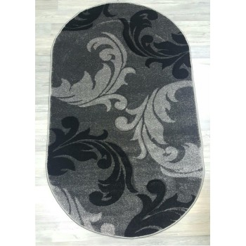 Ковер Frize Carving (Фризе Карвинг) 5919 OVAL DARK GREY