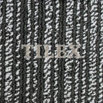 Ковровая Плитка Artline (Артлайн) 1185 Белый-Черный