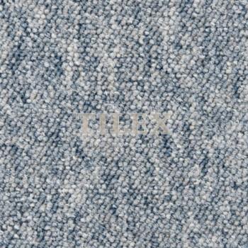 Ковровая Плитка London (Лондон) 1280 Голубой